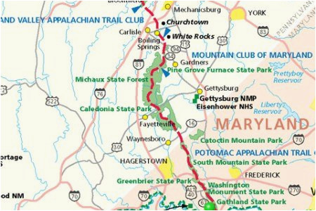 Appalachian Trail Tennessee Map | secretmuseum