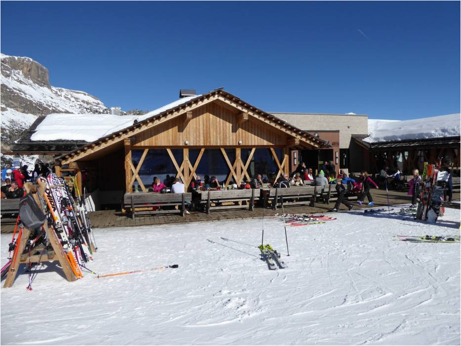 ski resort arabba marmolada skiing arabba marmolada