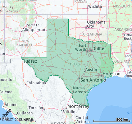 Area Code Map Of Texas Listing Of All Zip Codes In the State Of Texas