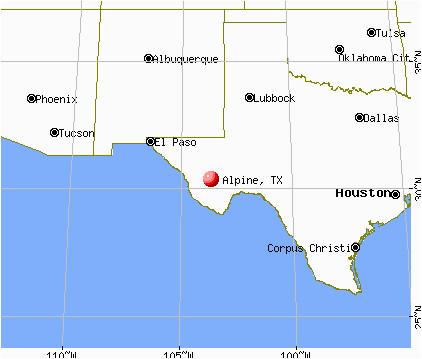 map of alpine texas business ideas 2013