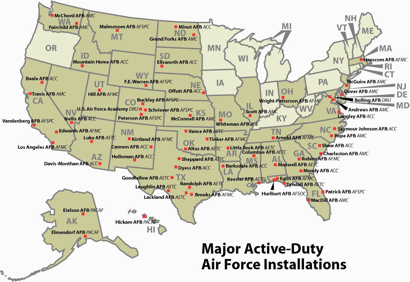 air force bases texas map business ideas 2013