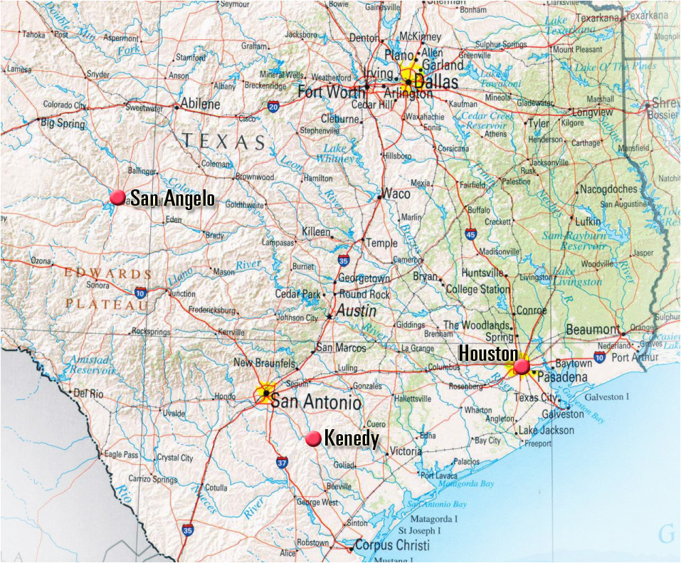 kenedy texas map business ideas 2013