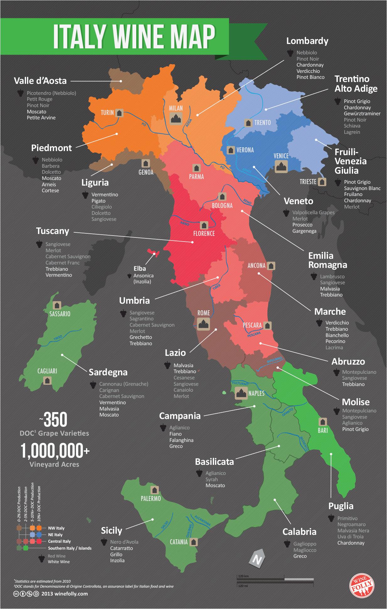 italy wine map wine pairings wine folly italy map italian wine