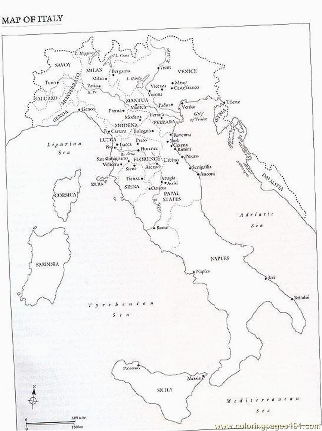 Free Printable Map Of Italy.Blank Map Of Ancient Italy Secretmuseum