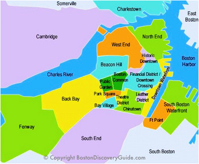 best boston map for visitors free sightseeing map boston