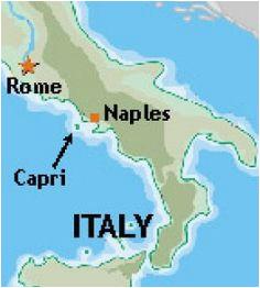 Caprese Italy Map Luxury Capri Italy Map Bressiemusic