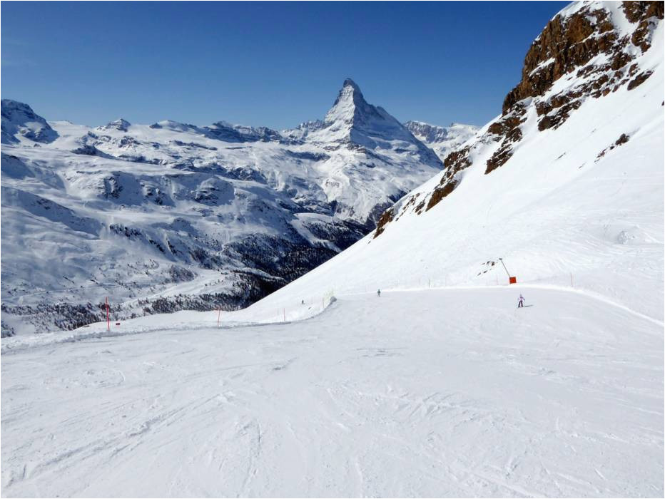slope offering zermatt breuil cervinia valtournenche matterhorn