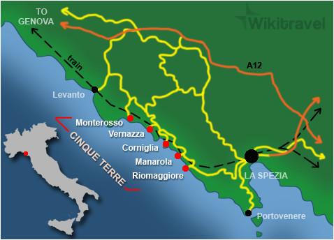 cinque terre wikitravel