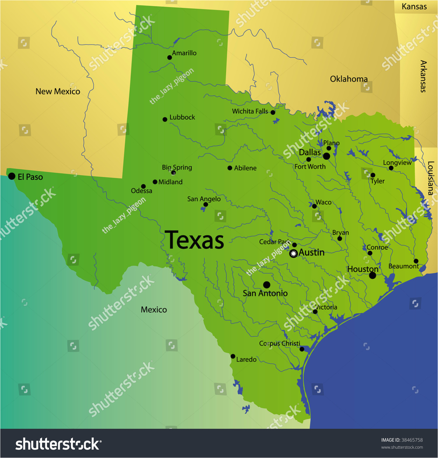 state map texas business ideas 2013