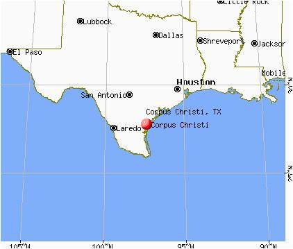 Corpus Christi Map Of Texas.Corpus Christi On Texas Map Secretmuseum