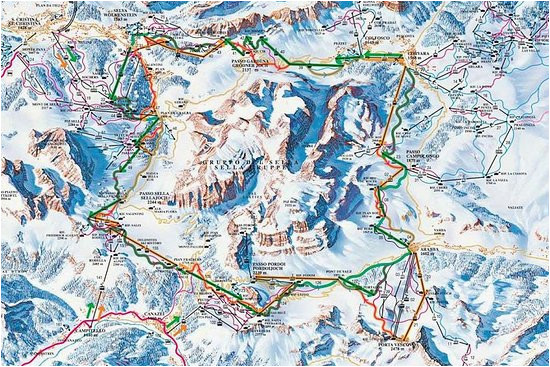 Cortina Italy Map the 10 Best Parks Nature attractions In Cortina D Ampezzo