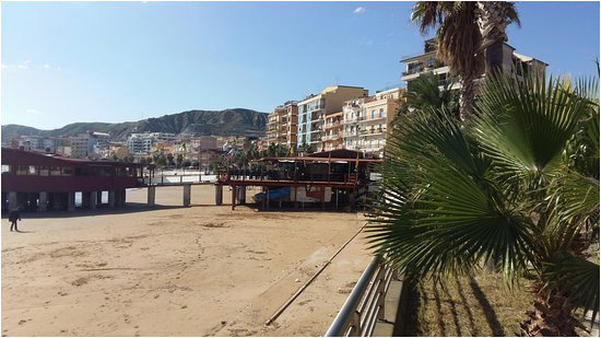 part of the seafront at crotone calabria italy picture of b b