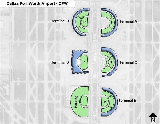 Dallas Texas Airport Map | secretmuseum