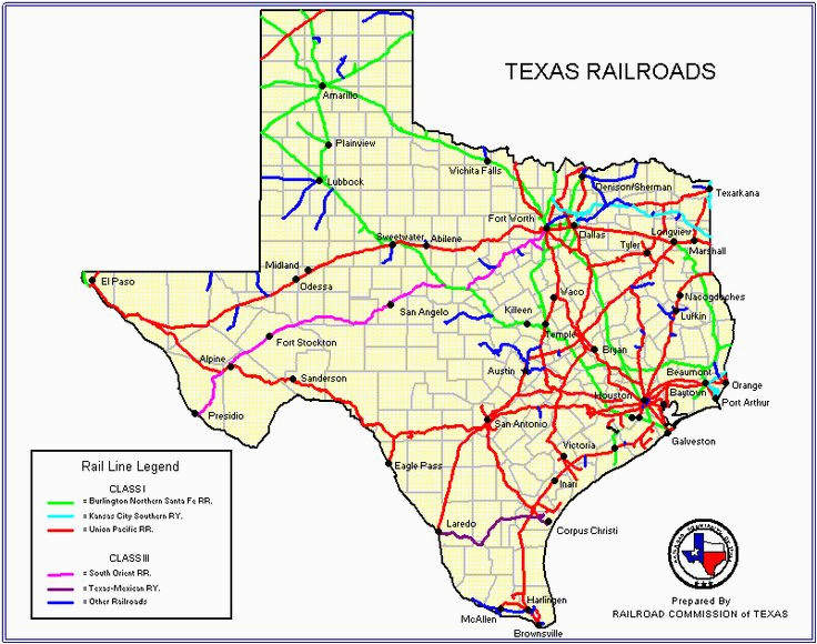 map of railroads in texas business ideas 2013