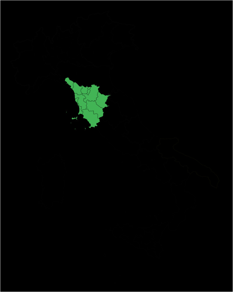 Detailed Map Of Tuscany Italy Map Region Of toscana Svg My Italy Ferragosto Tuscany Italy