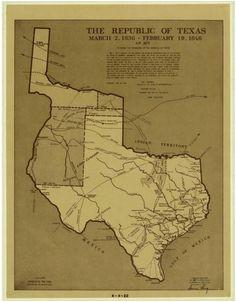 86 best texas maps images texas maps texas history republic of texas