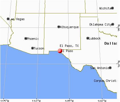 el paso map texas business ideas 2013