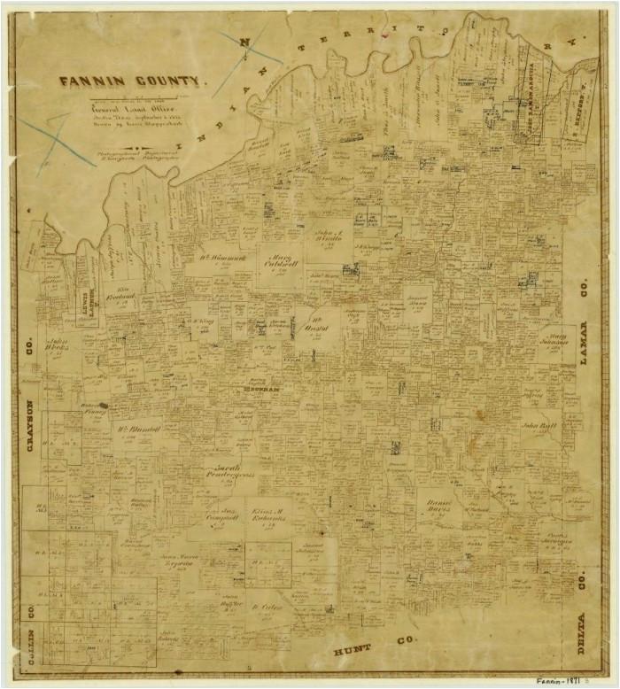 fannin county the portal to texas history