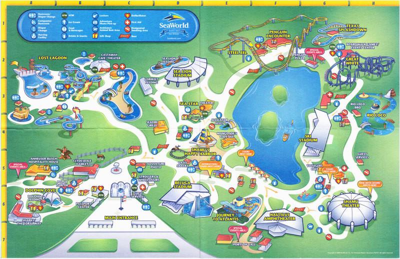 seaworld texas map business ideas 2013