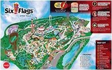 six flags over texas arlington map business ideas 2013