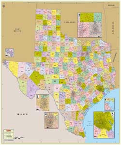 texas county map list of counties in texas tx