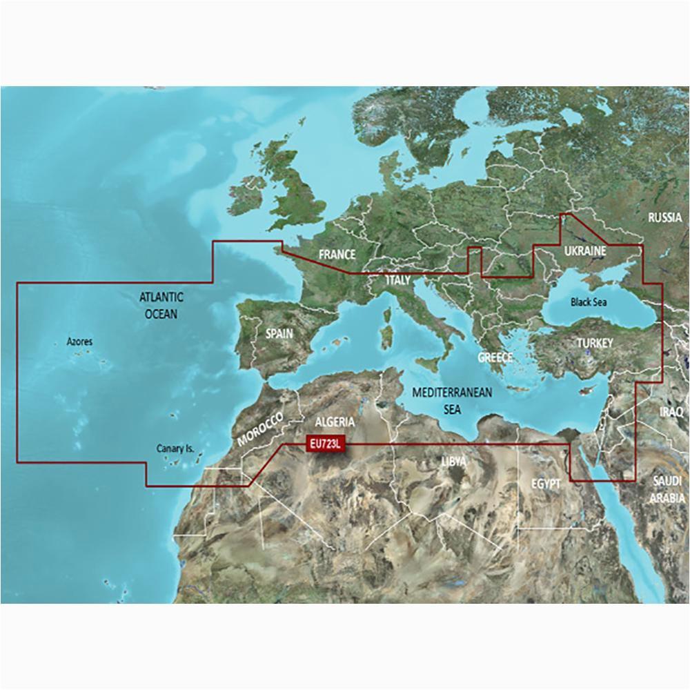 garmin veu723l southern europe bluechart g2 vision 010 c1157 00