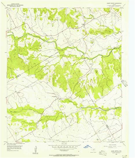amazon com yellowmaps hurst spring tx topo map 1 24000 scale 7 5