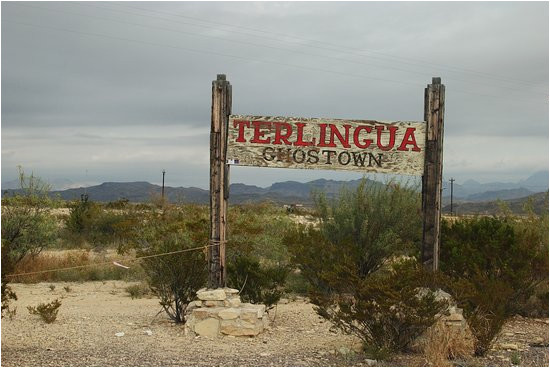 ghost town entrance picture of ghost town texas terlingua