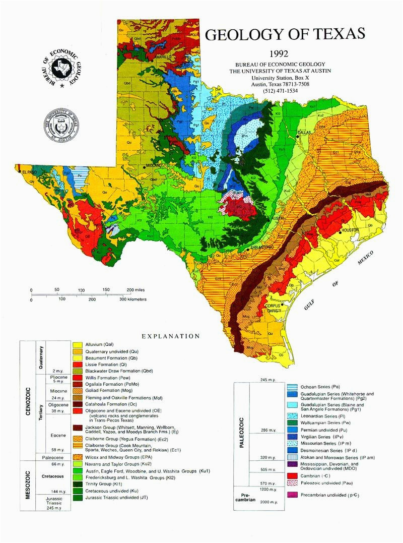 active fault lines in texas of the tectonic map of texas pictured