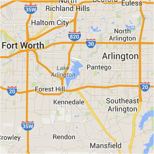 Dallas Texas Maps on