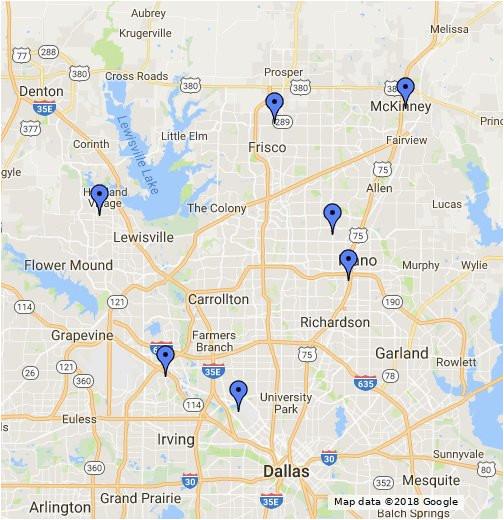 Google Maps Garland Texas Secretmuseum