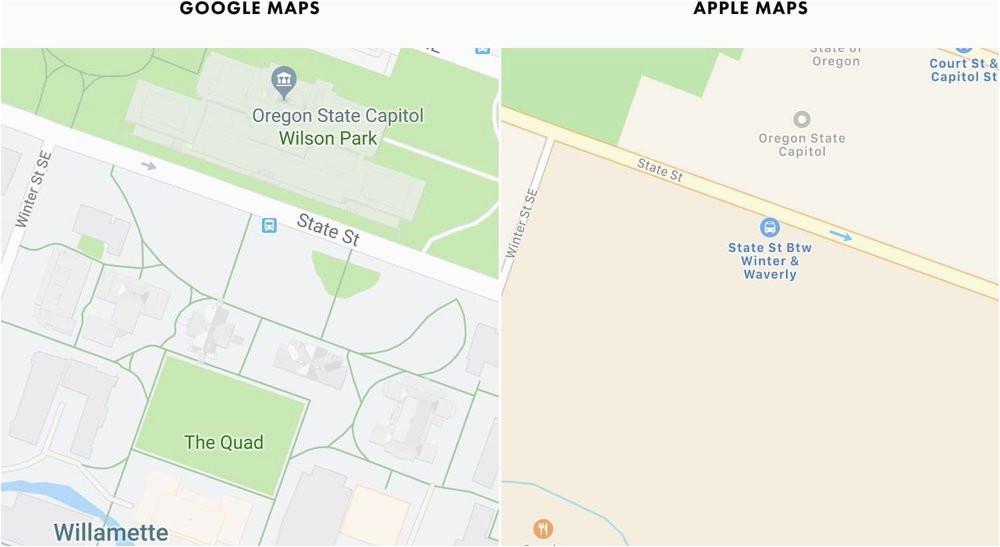 google maps s moat