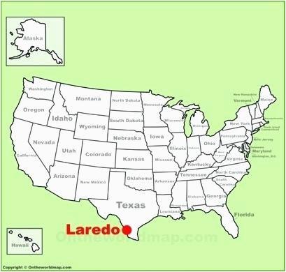 map of laredo texas rlku