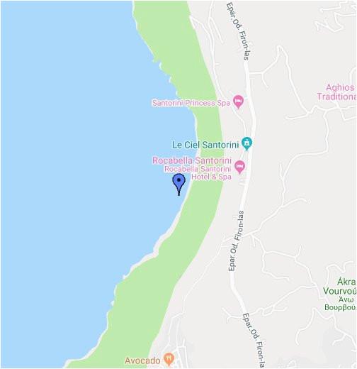 santorini google my maps