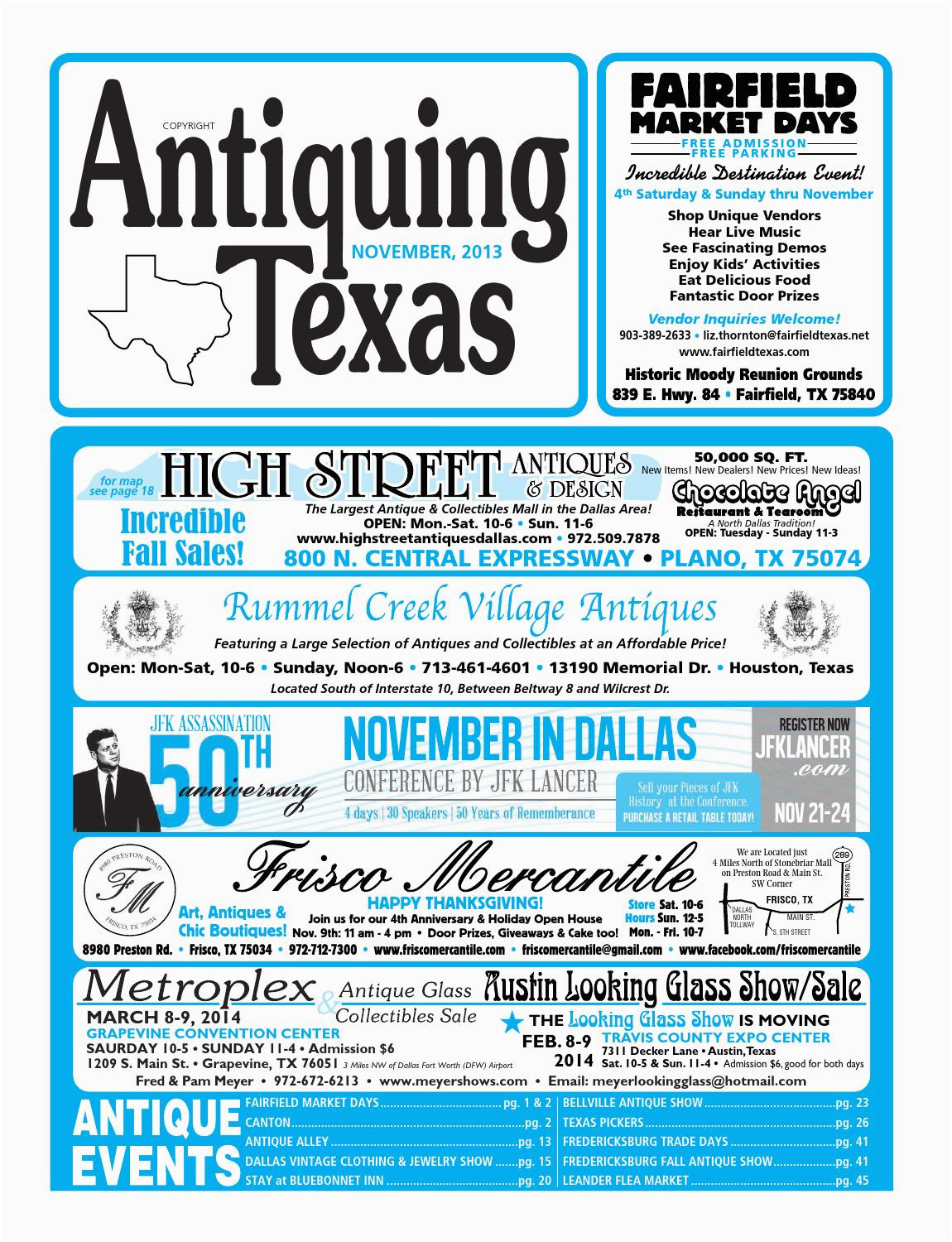 ant tx upload 11 13 by antiquing texas issuu