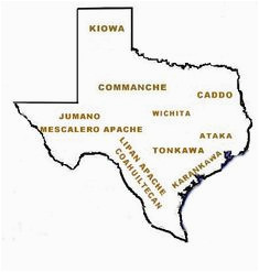 14 best maps showing lipan apache presence images maps texas maps