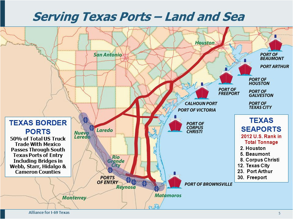 Map Of Interstate 69 In Texas.Interstate 69 Texas Map Interstate 69 Update Briefing I Loyd Neal