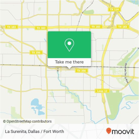 how to get to la surenita 207 e 2nd st irving tx 75060 in irving