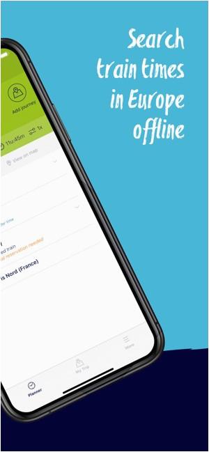eurail interrail rail planner on the app store