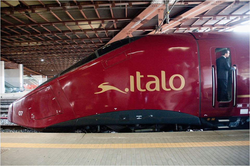 italy s private high speed rail line italo