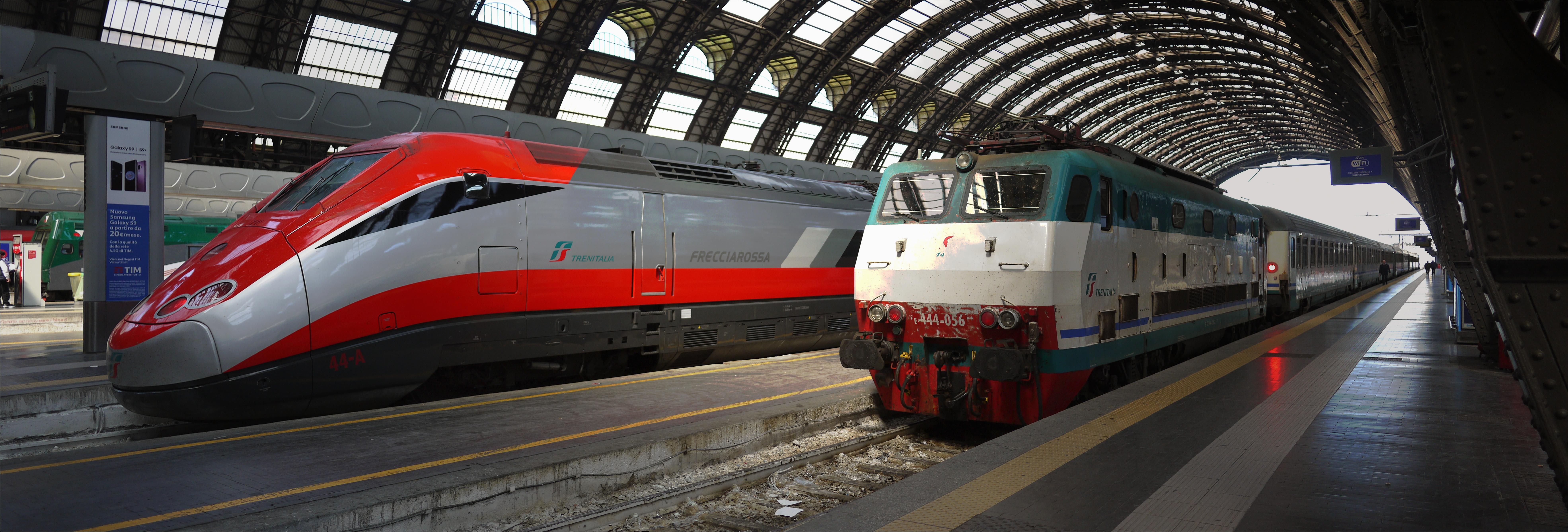 rail transport in italy wikipedia