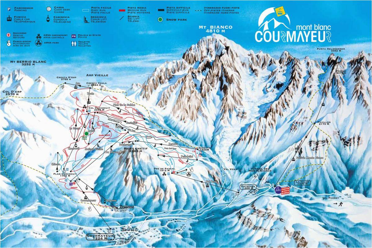 aosta valley ski resorts italy ski map ski resorts italy