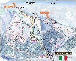 piste maps for italian ski resorts j2ski