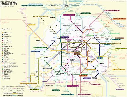 paris metro wikipedia
