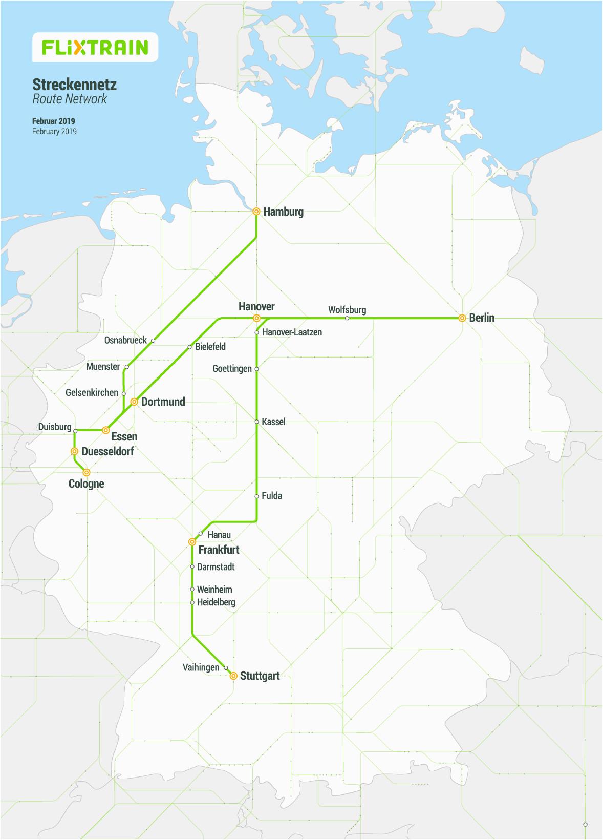 all train routes a flixtrain