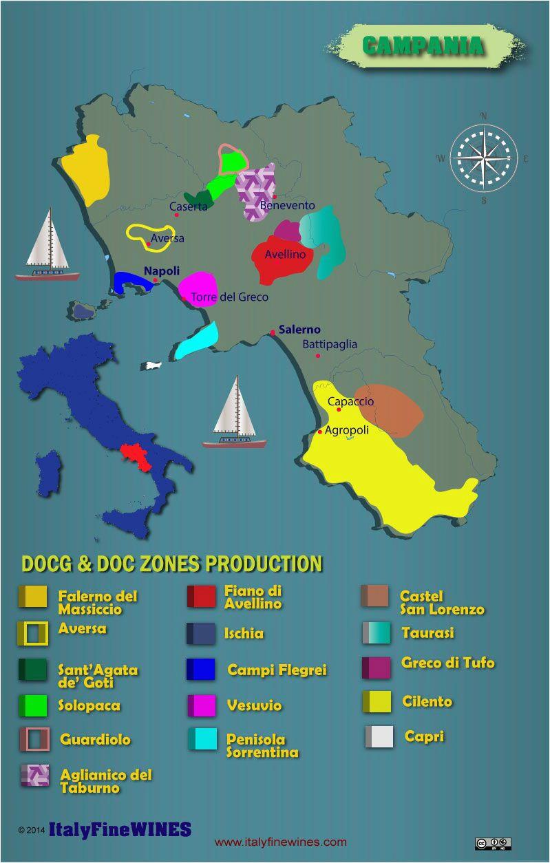 campania italy major appellations wine wineeducation italy