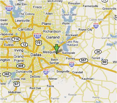 map of mesquite texas business ideas 2013