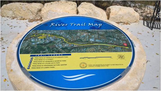 trail map picture of kerrville river trail kerrville tripadvisor