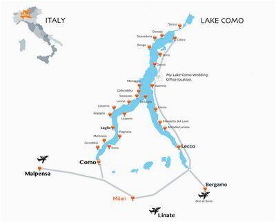 italy lake region maps verona tours 2017