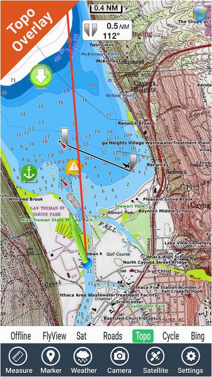 lake itasca minnesota hd gps fishing map offline by flytomap
